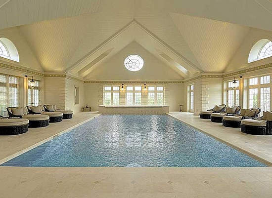 Indoor Pools In Homes Prepossessing Indoor Swimming Pools A Luxury For The Winter  Healthy House Plans Design Ideas