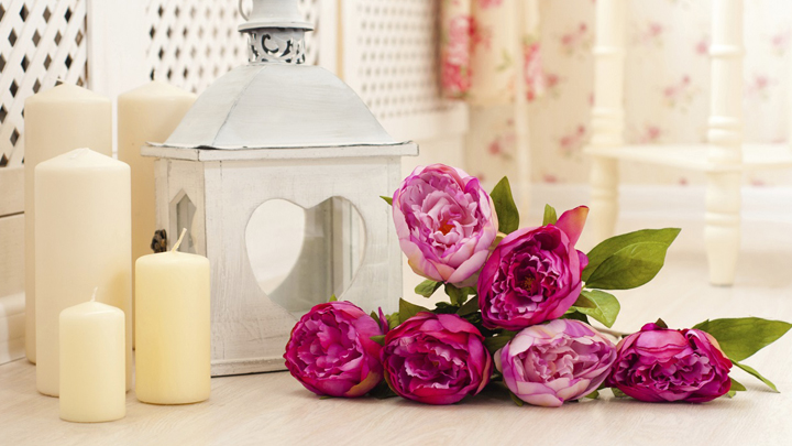 Decorate with candles