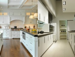 Decorate a galley kitchen