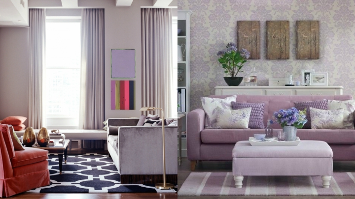 Ideas For Gray Lilac Introduce Color In Your Decor