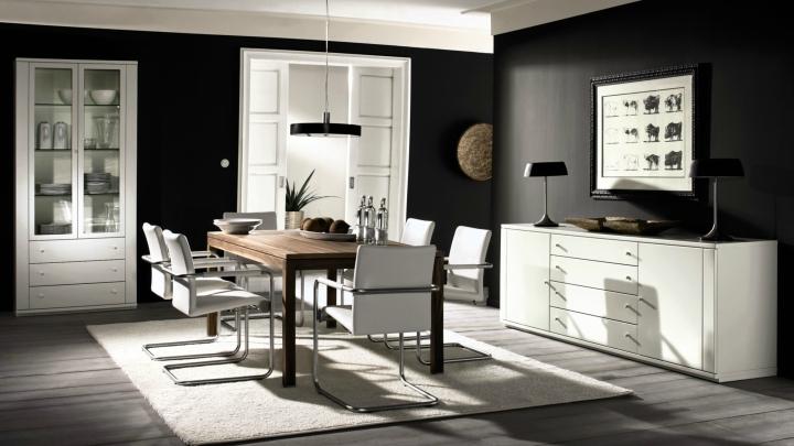 Black color decoration