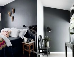 Black color decoration