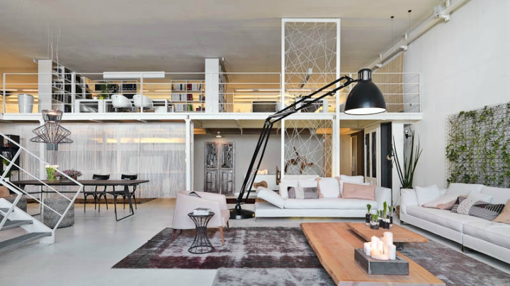 Loft two heights