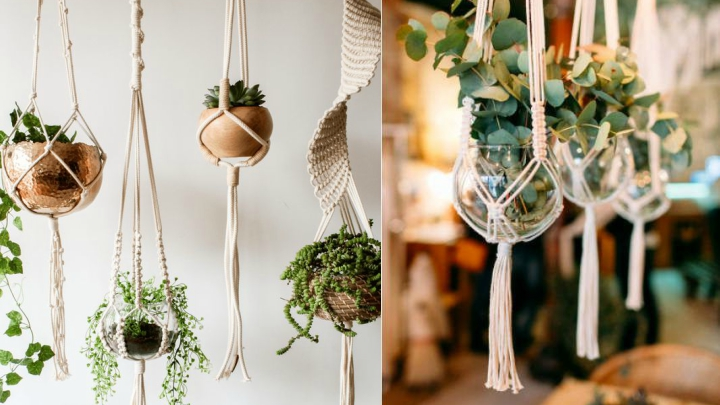 decorate with macramé