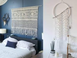 decorate with macramé
