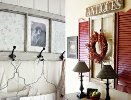 decorate with old windows