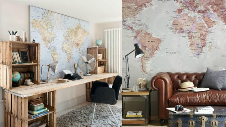 Decoration ideas for travel lovers