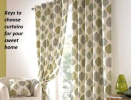 Keys to choose curtains for your sweet home