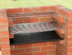 How to build a barbecue with refractory bricks