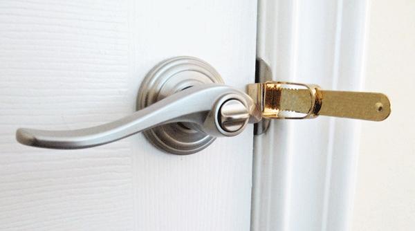 How to unlock a bedroom door
